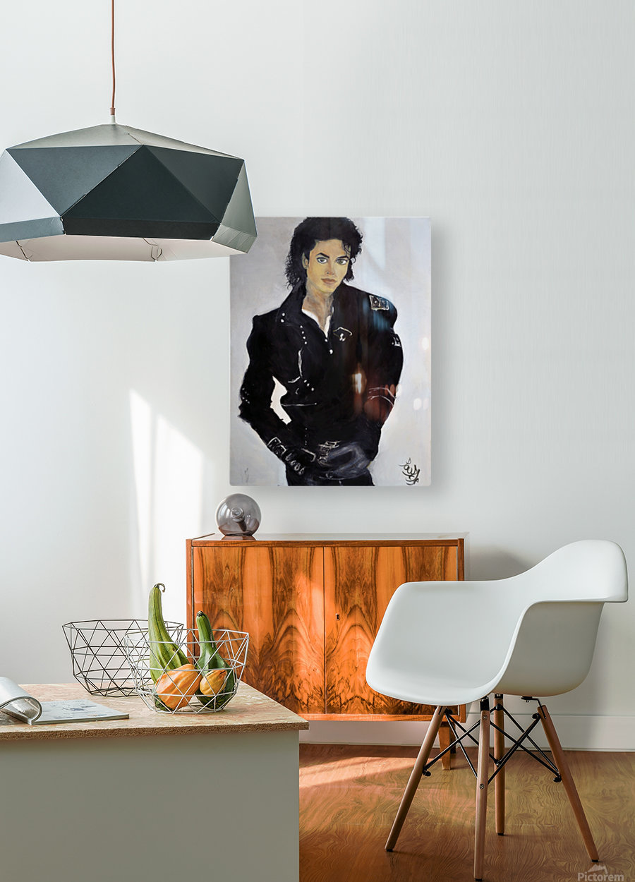 Michael_High_Res  HD Metal print with Floating Frame on Back