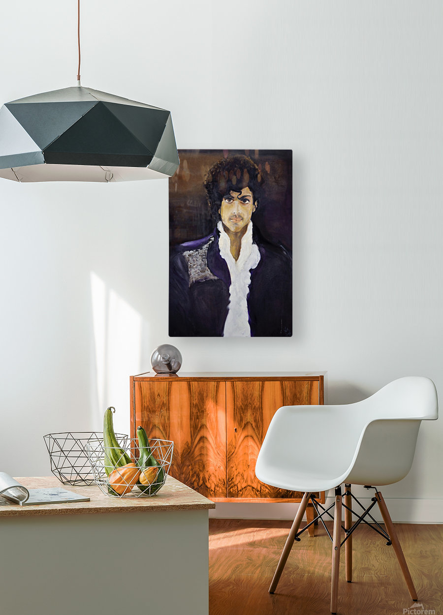 Prince_High_Res  HD Metal print with Floating Frame on Back