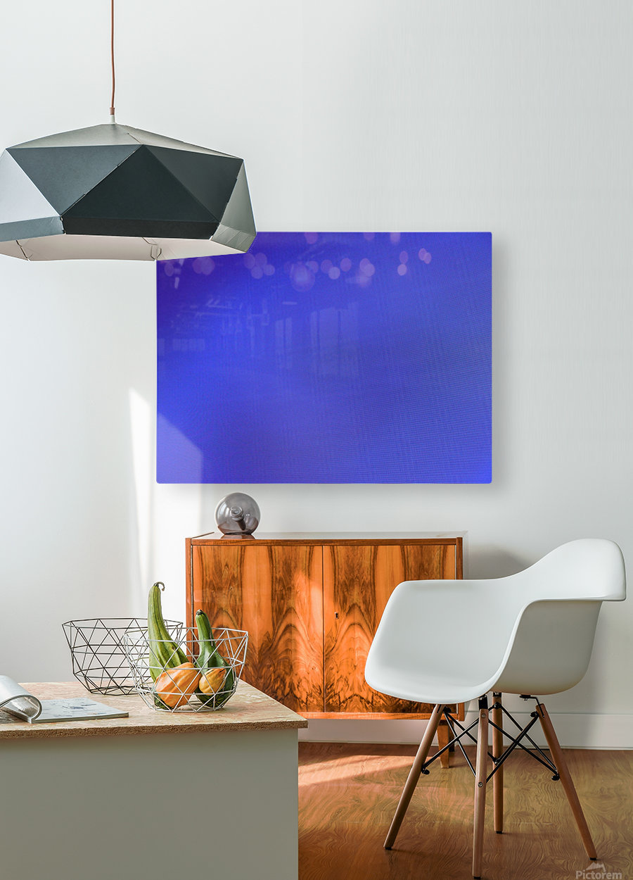threw my hands to the ground  HD Metal print with Floating Frame on Back