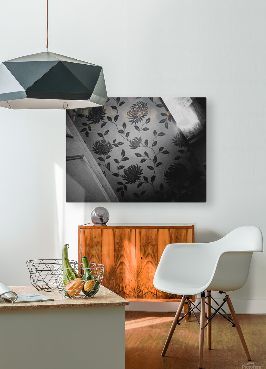 At The End  HD Metal print with Floating Frame on Back