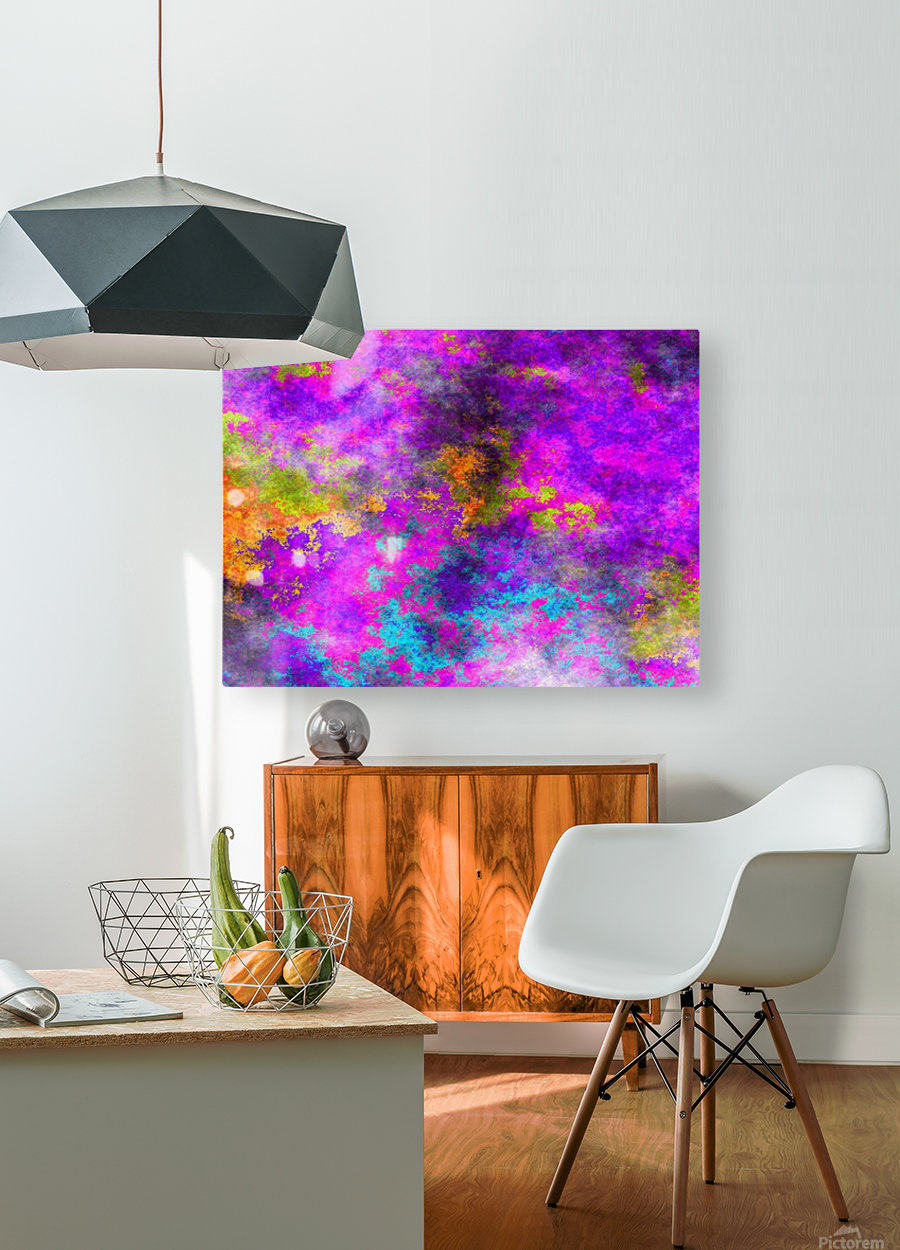 Plasma Light 5  HD Metal print with Floating Frame on Back