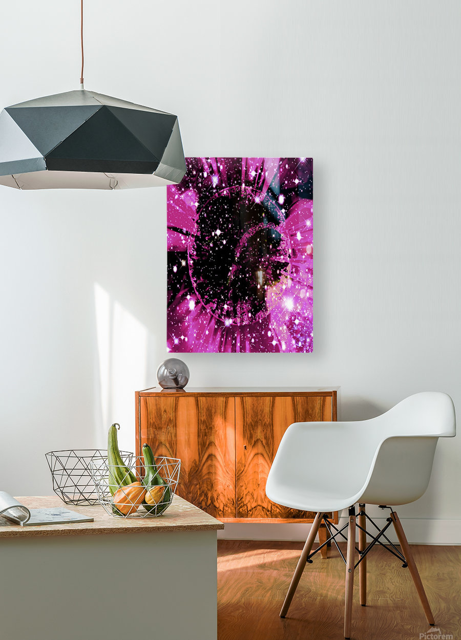 The Power of Colors Series 1  HD Metal print with Floating Frame on Back