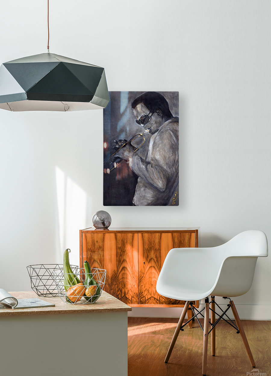 Jazz_High_Res  HD Metal print with Floating Frame on Back