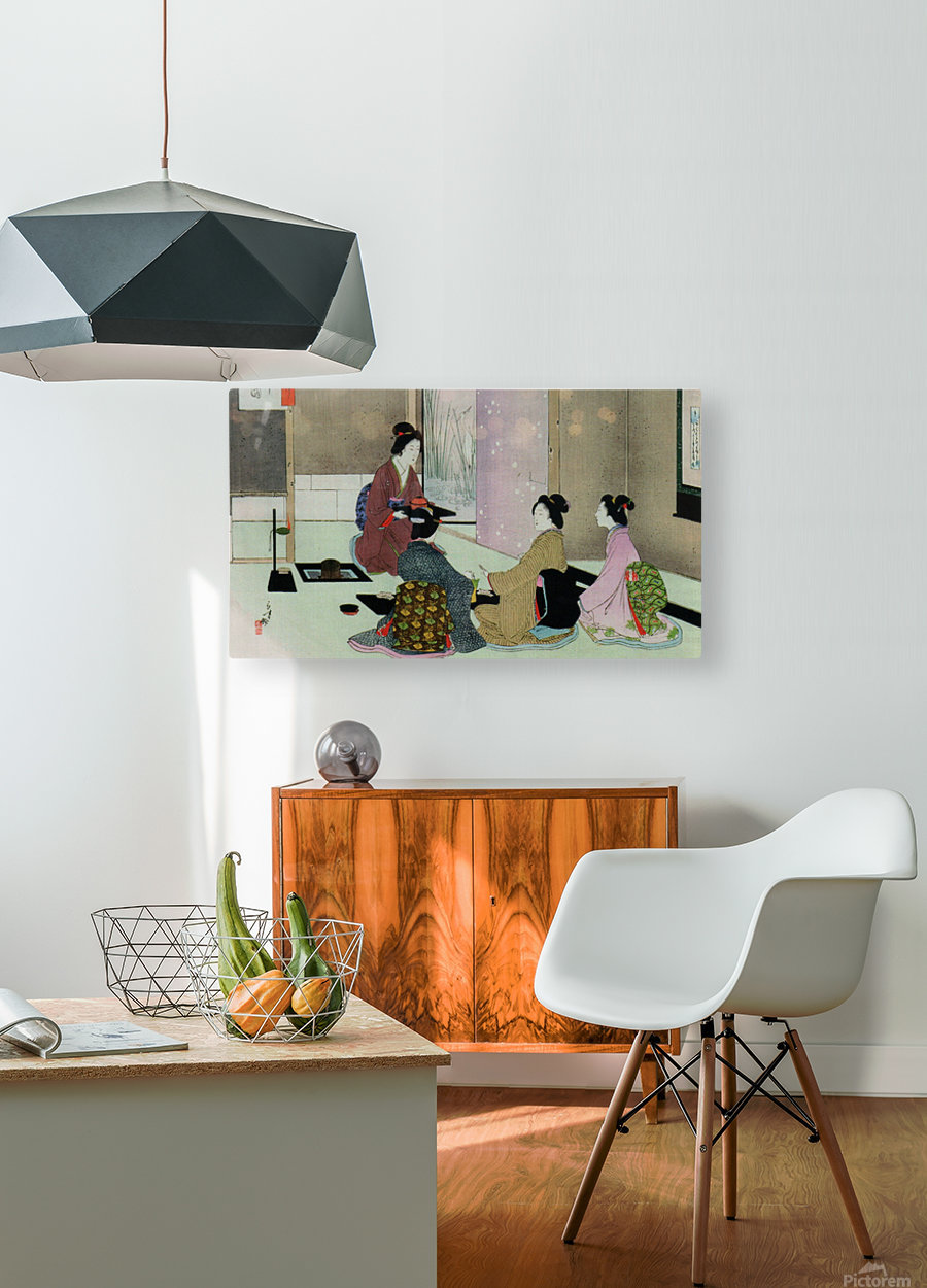 The Ceremonie  HD Metal print with Floating Frame on Back
