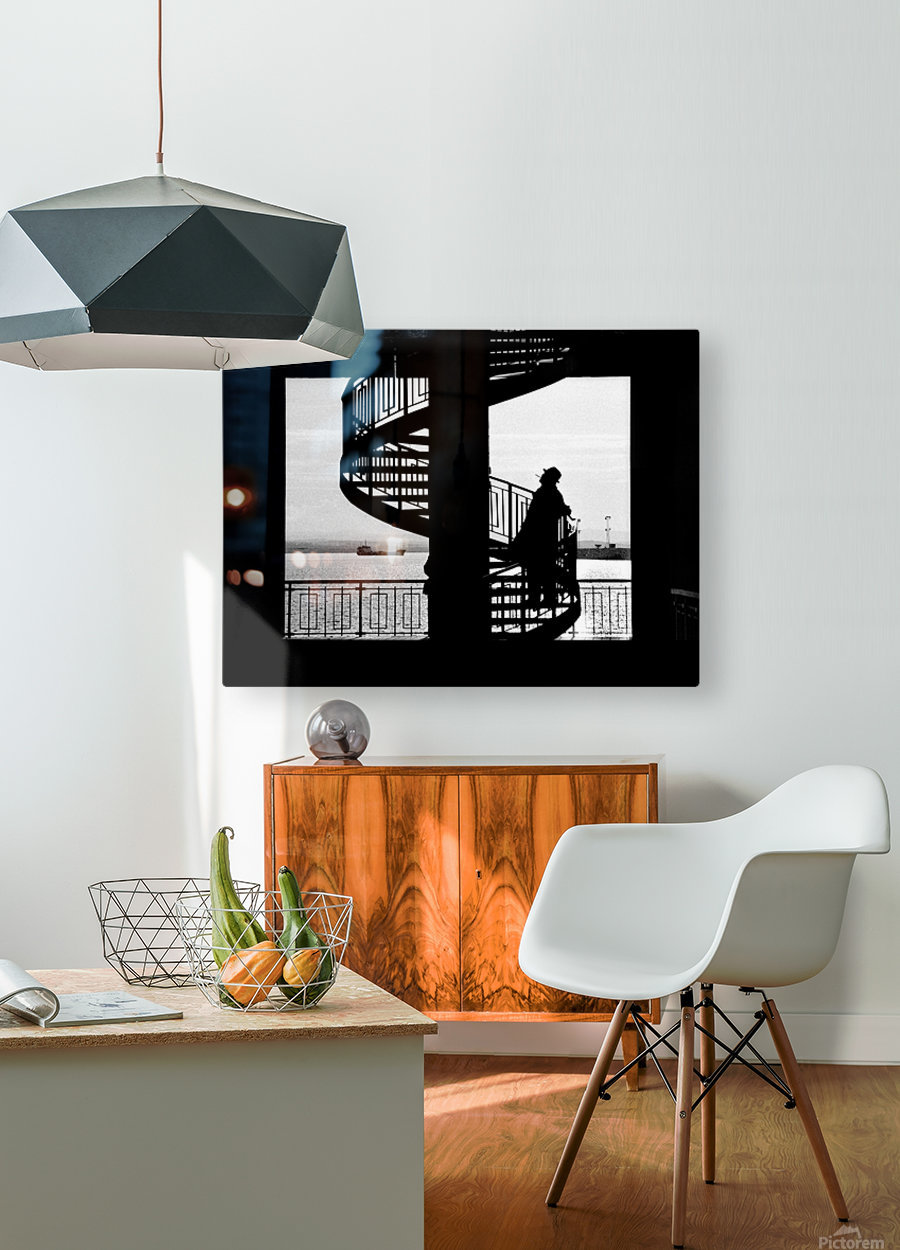 $  HD Metal print with Floating Frame on Back