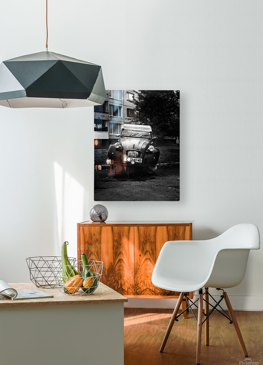 CITROEN  HD Metal print with Floating Frame on Back