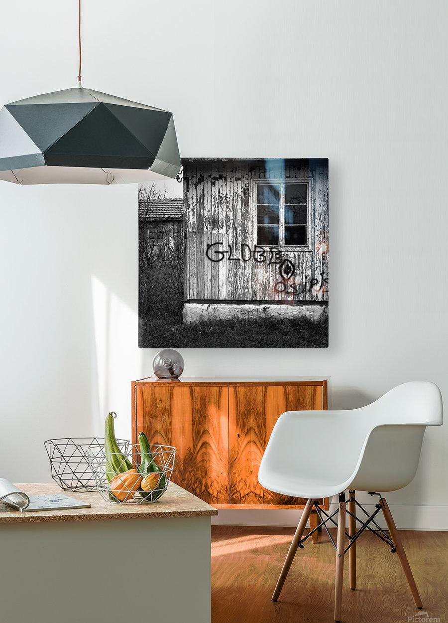 Bunagalow  HD Metal print with Floating Frame on Back