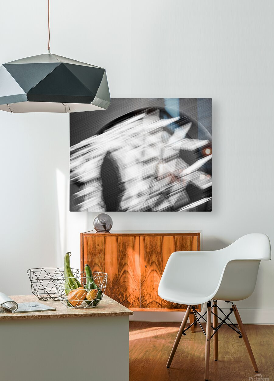 Hoop to the Sky  HD Metal print with Floating Frame on Back