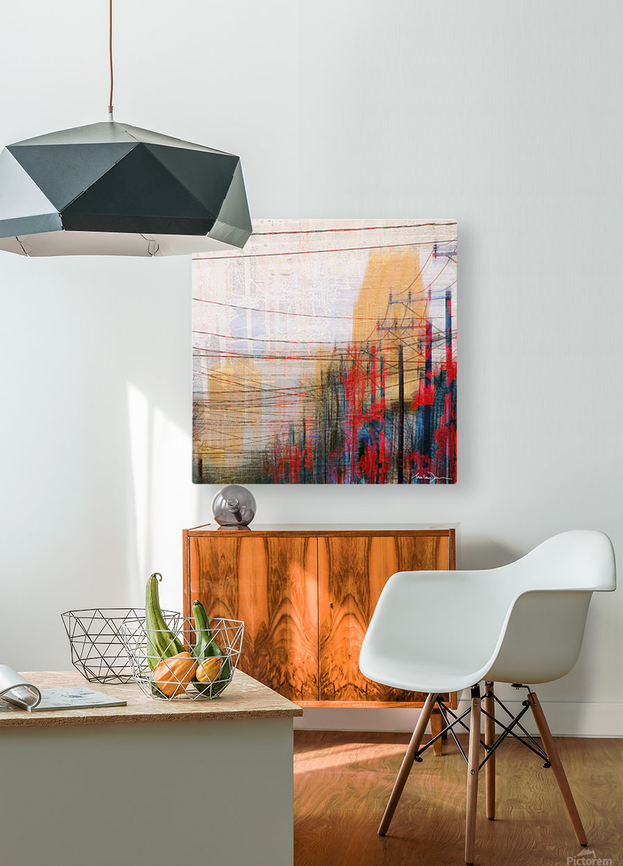 Montreal  HD Metal print with Floating Frame on Back