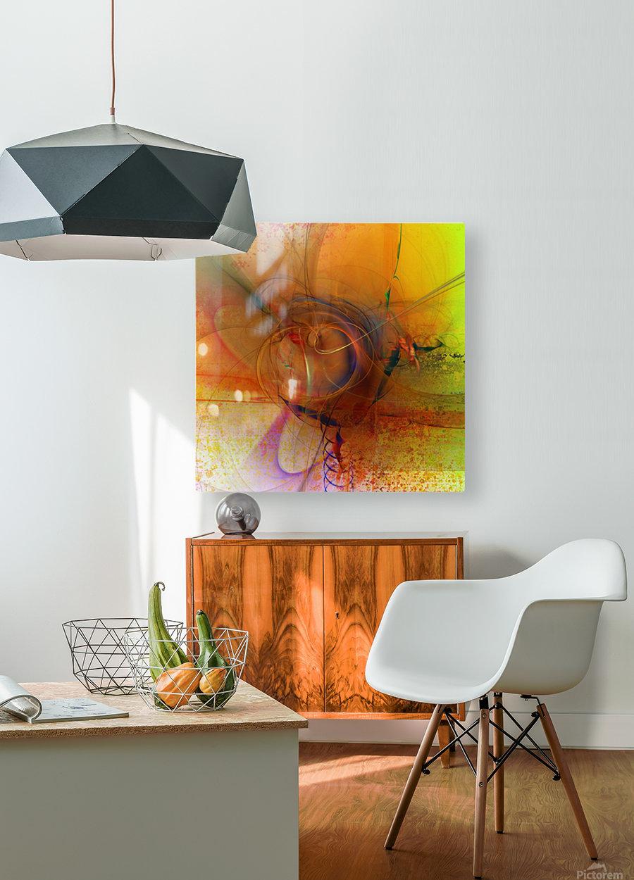 Angoiema  HD Metal print with Floating Frame on Back