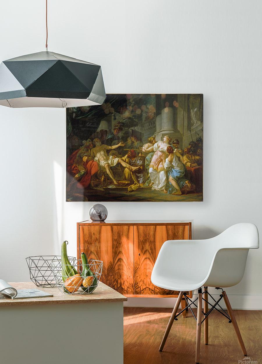 La Mort de Seneque  HD Metal print with Floating Frame on Back