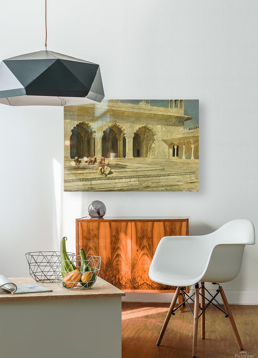 Bath inside palace  HD Metal print with Floating Frame on Back
