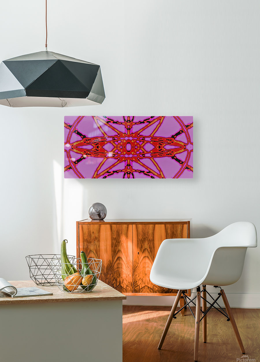 MARS  HD Metal print with Floating Frame on Back
