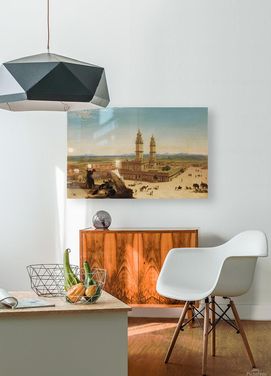 Oriental landscape  HD Metal print with Floating Frame on Back