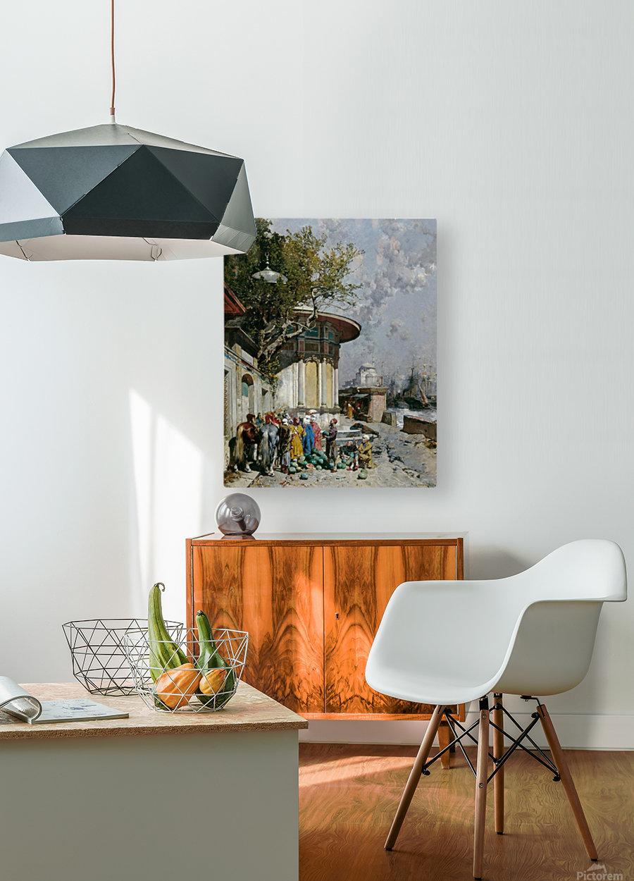 Fontana turca  HD Metal print with Floating Frame on Back