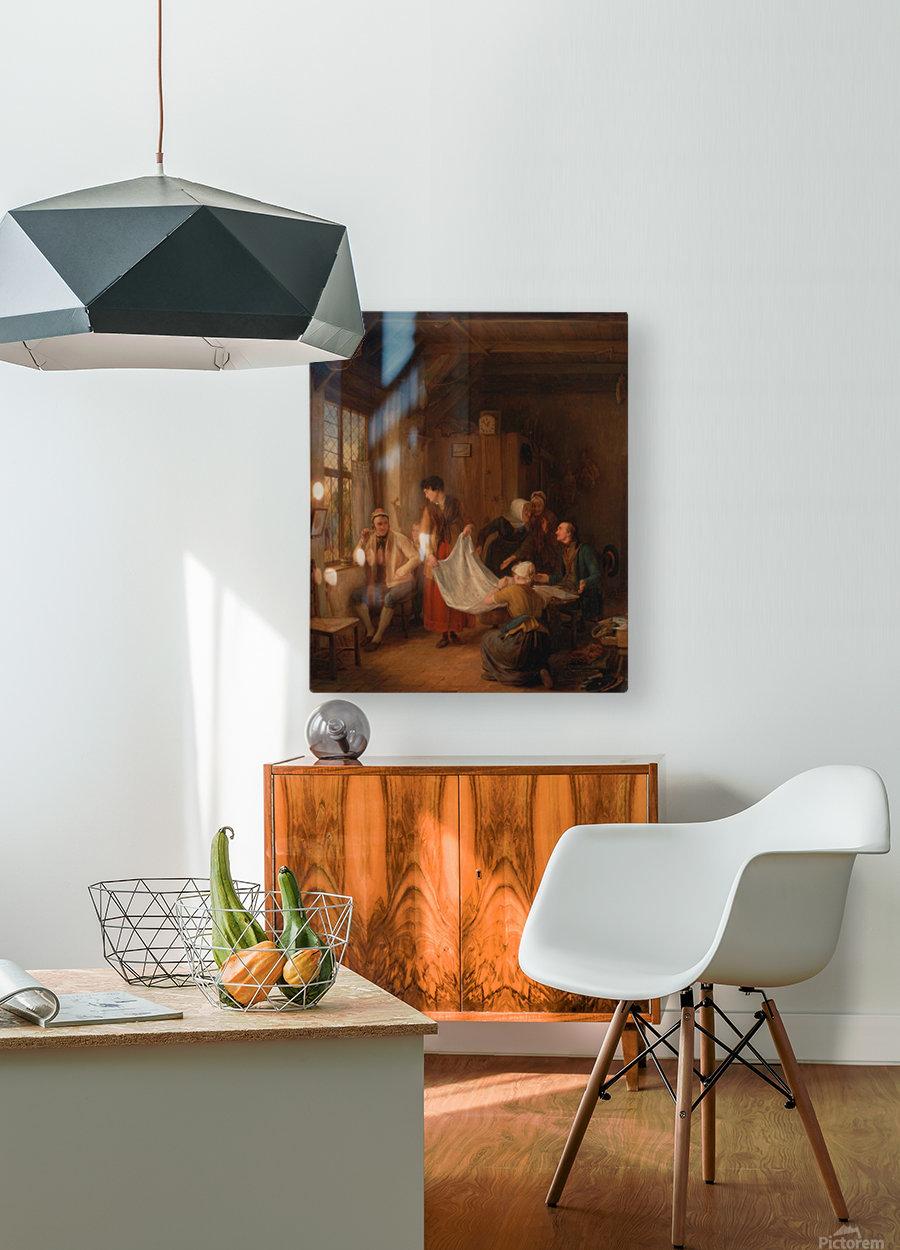 The Pedlar  HD Metal print with Floating Frame on Back