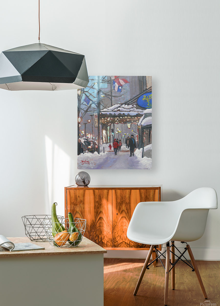 The Ritz  HD Metal print with Floating Frame on Back
