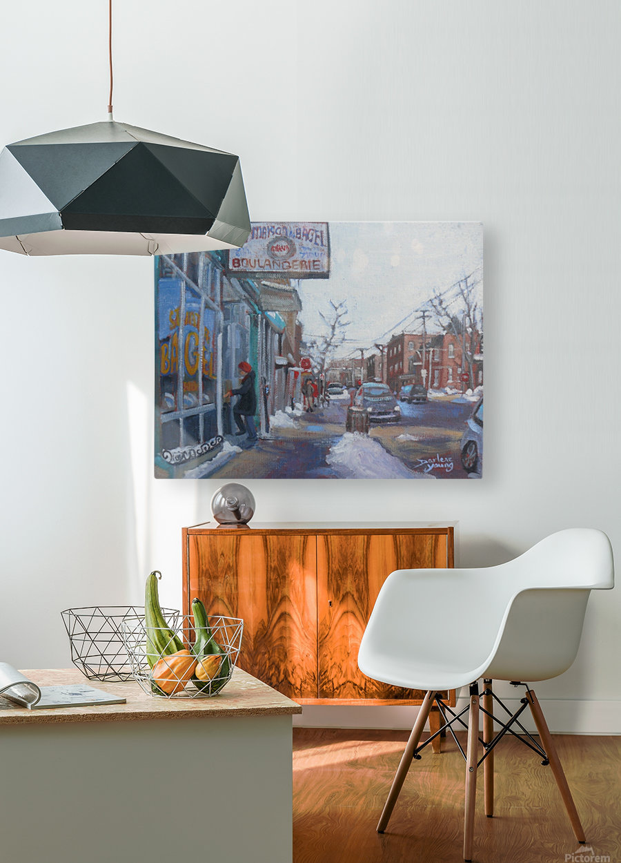 St Viateur  HD Metal print with Floating Frame on Back