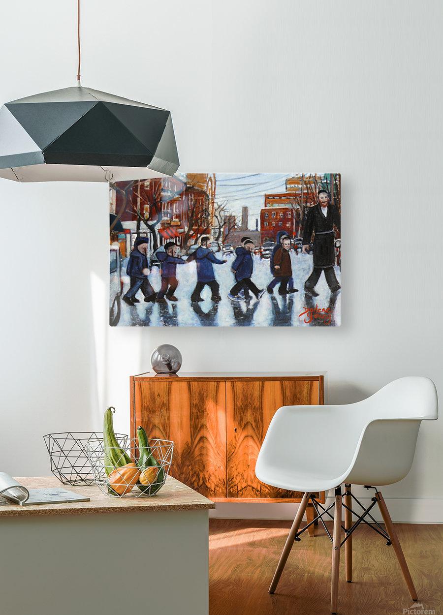 Safe Passage  HD Metal print with Floating Frame on Back