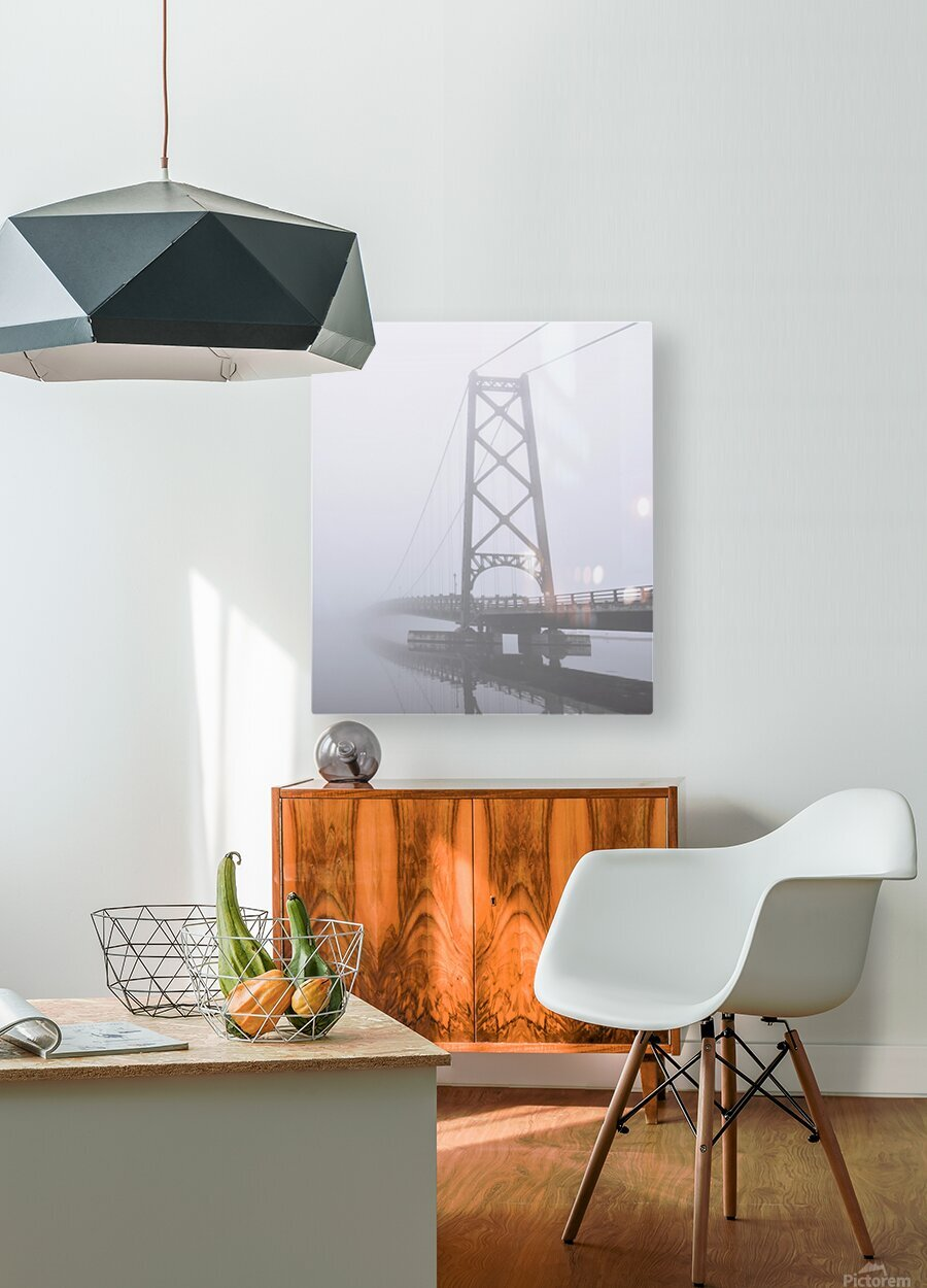 Mysterieux  HD Metal print with Floating Frame on Back