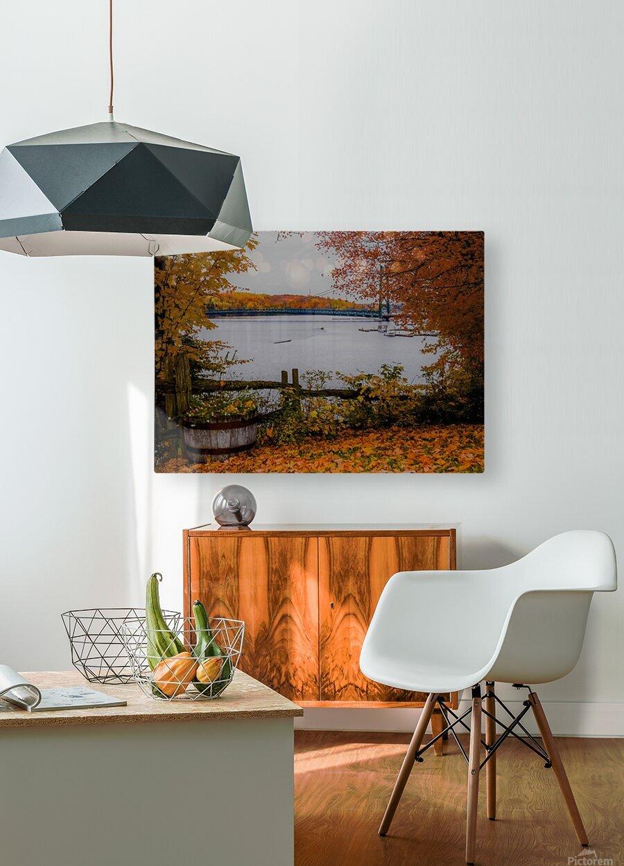 Legende dautomne  HD Metal print with Floating Frame on Back