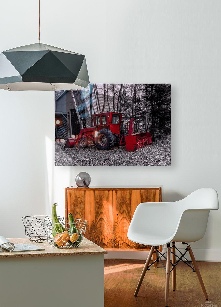 Contraste  HD Metal print with Floating Frame on Back