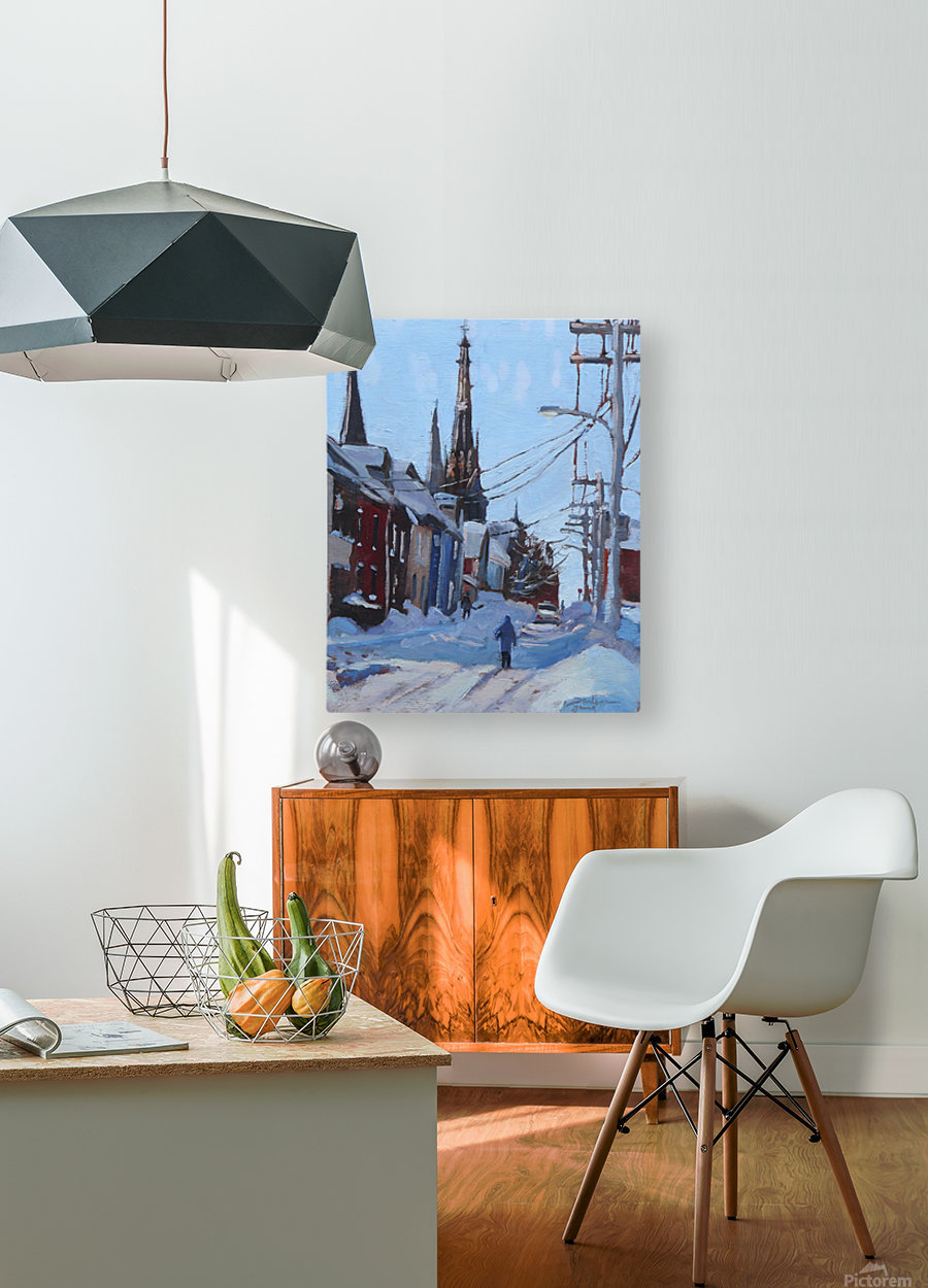 Charlottetown PEI  HD Metal print with Floating Frame on Back