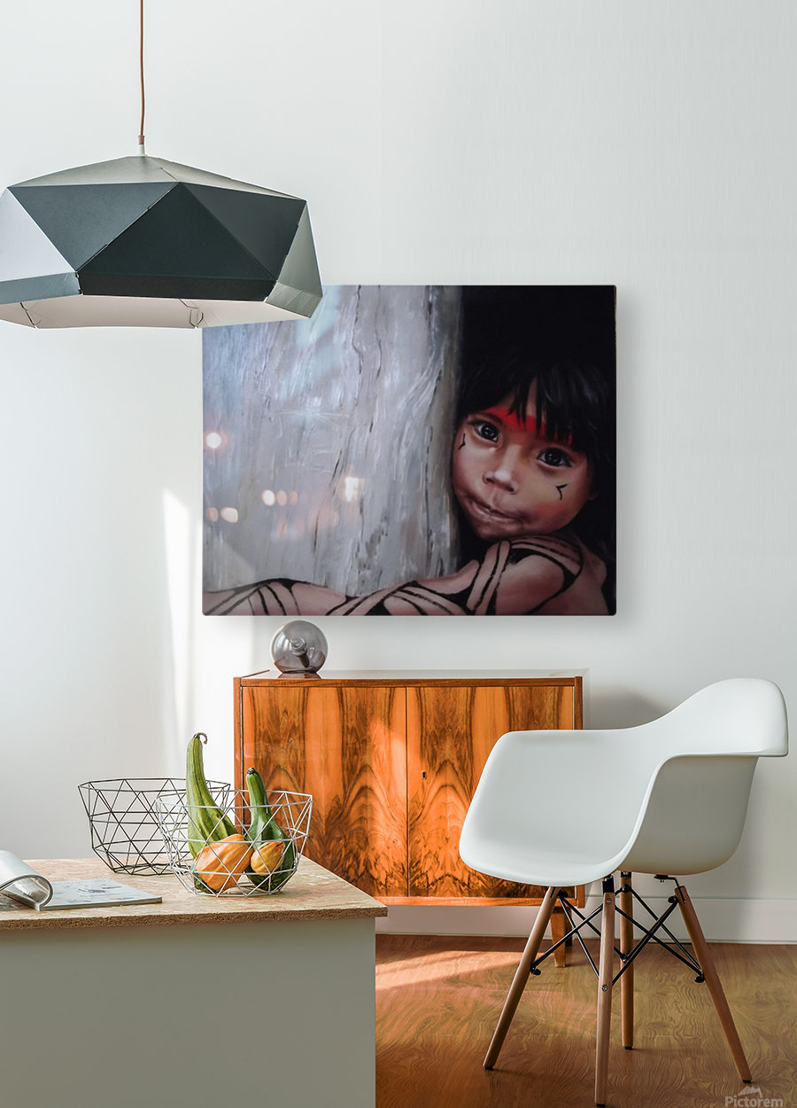 Mission Asheninka  HD Metal print with Floating Frame on Back