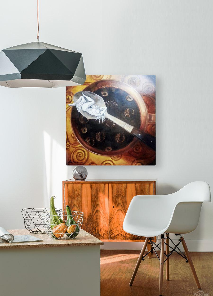 Premonition  HD Metal print with Floating Frame on Back
