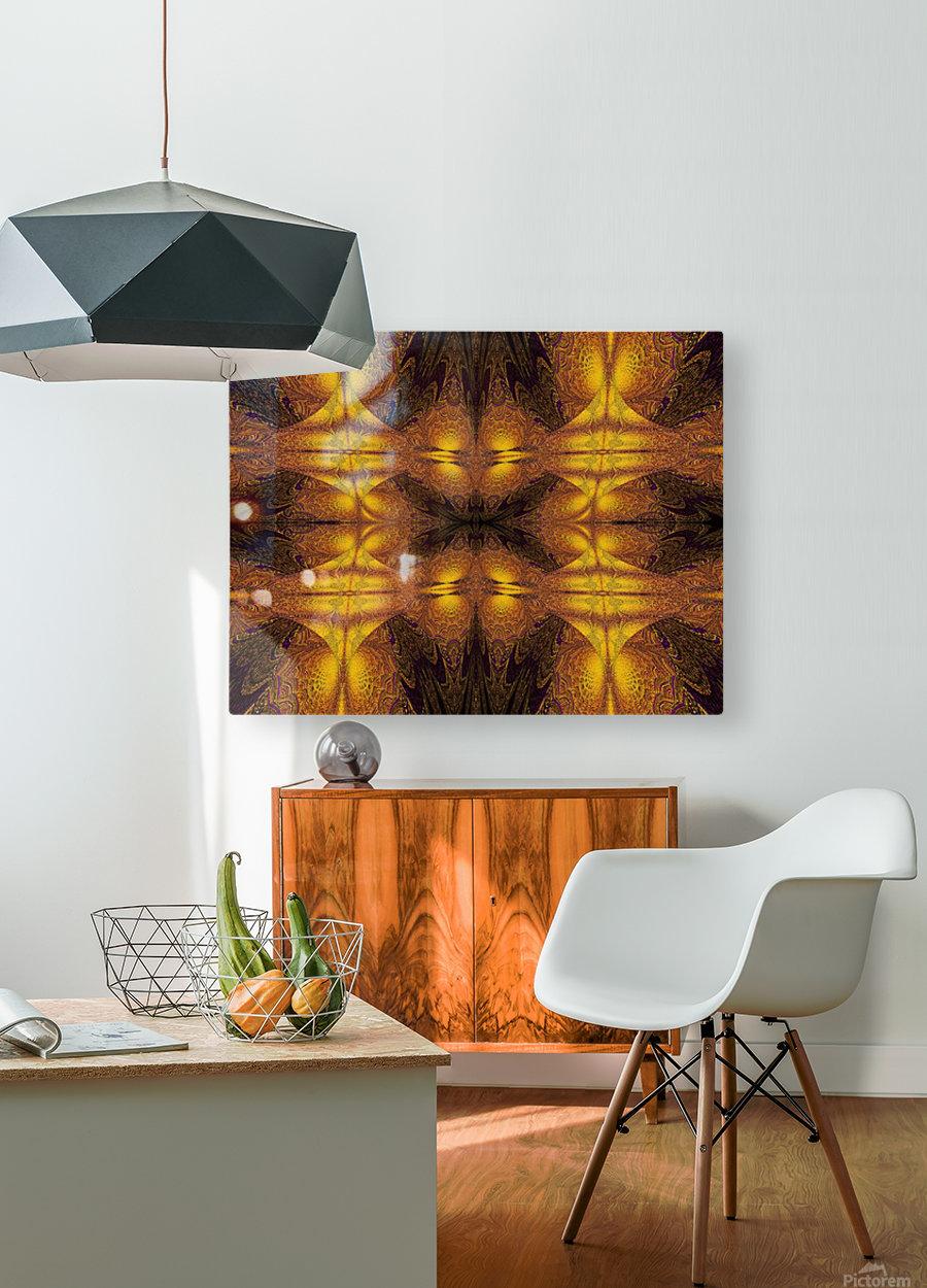 Spiritual Sunshine  21  HD Metal print with Floating Frame on Back