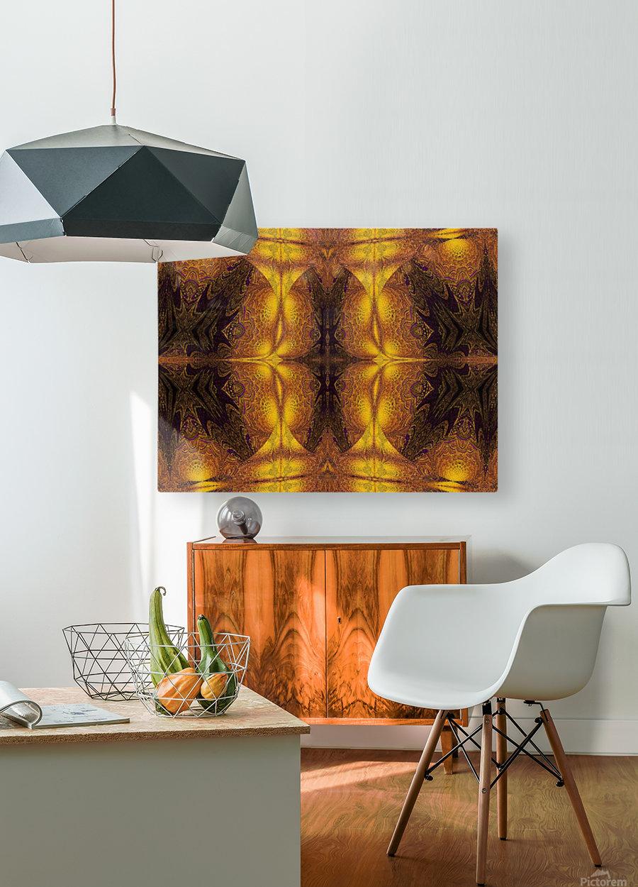 Spiritual Sunshine  22  HD Metal print with Floating Frame on Back