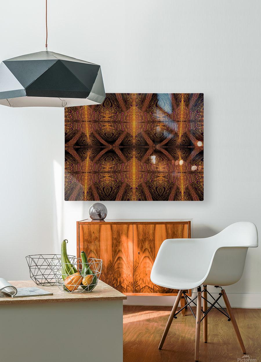 Spiritual Sunshine  28  HD Metal print with Floating Frame on Back