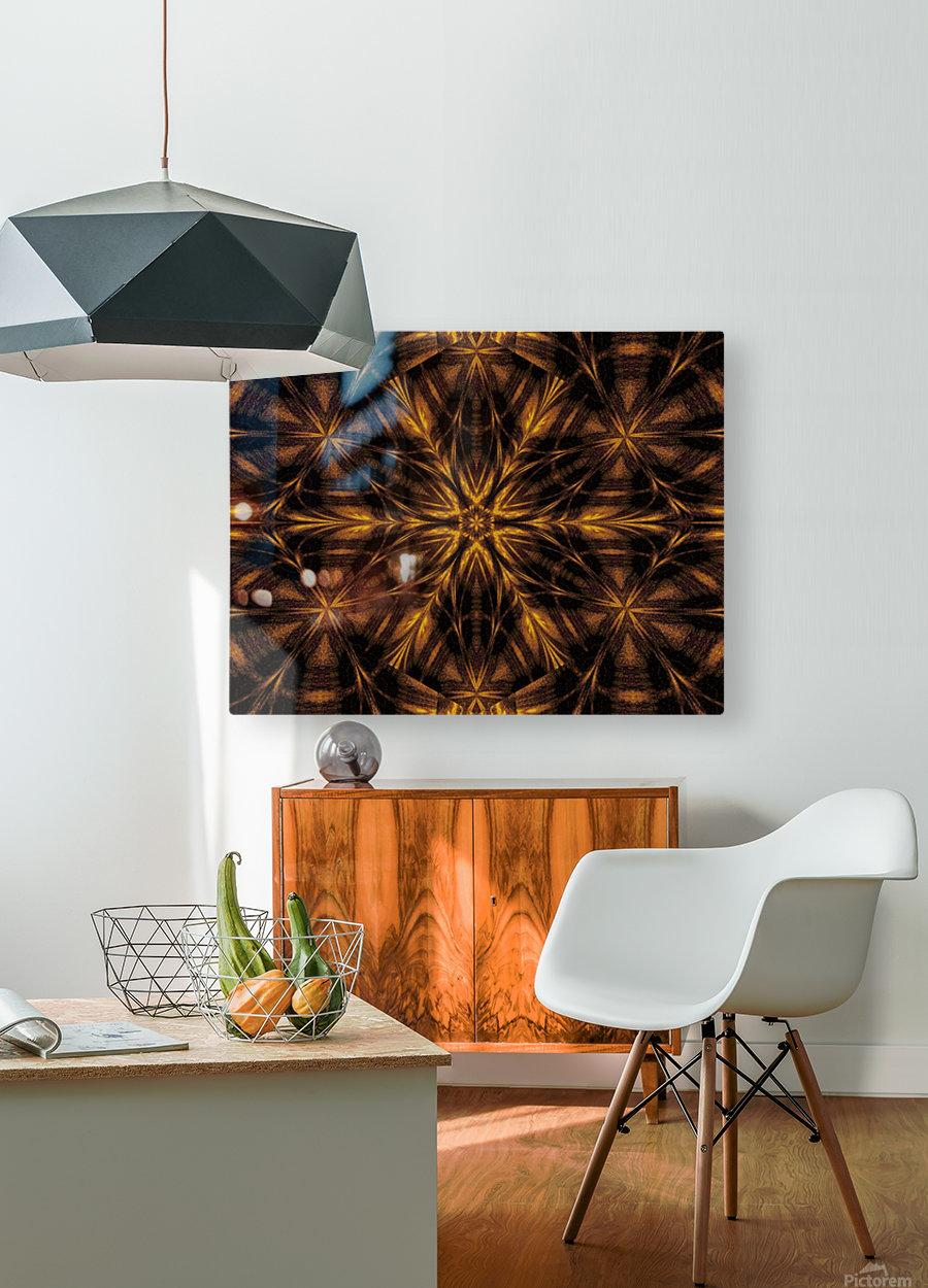 Spiritual Sunshine  33  HD Metal print with Floating Frame on Back