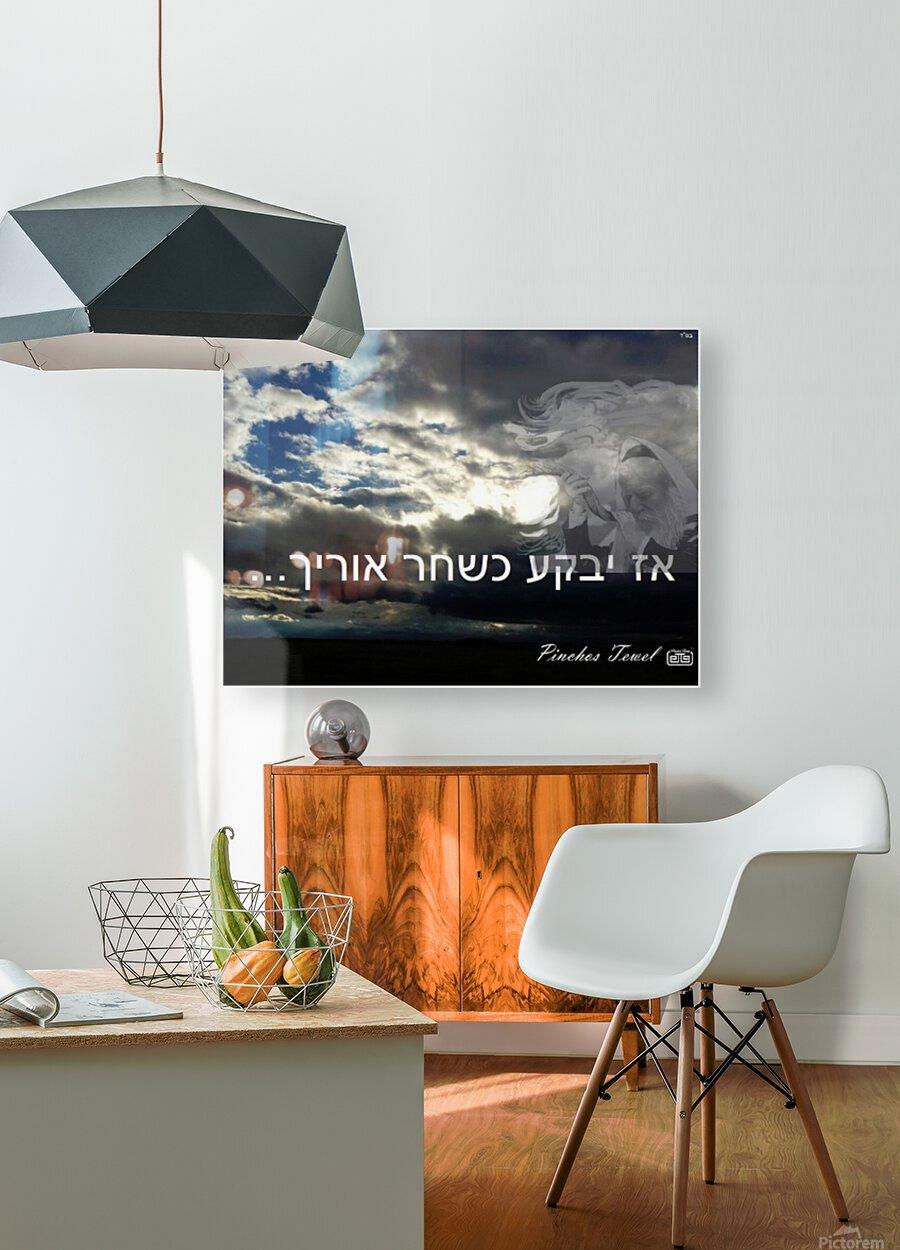 art   oz yiboka  2  HD Metal print with Floating Frame on Back