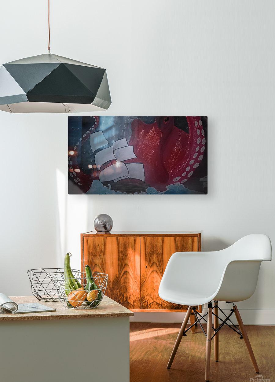 KIMG4116  HD Metal print with Floating Frame on Back