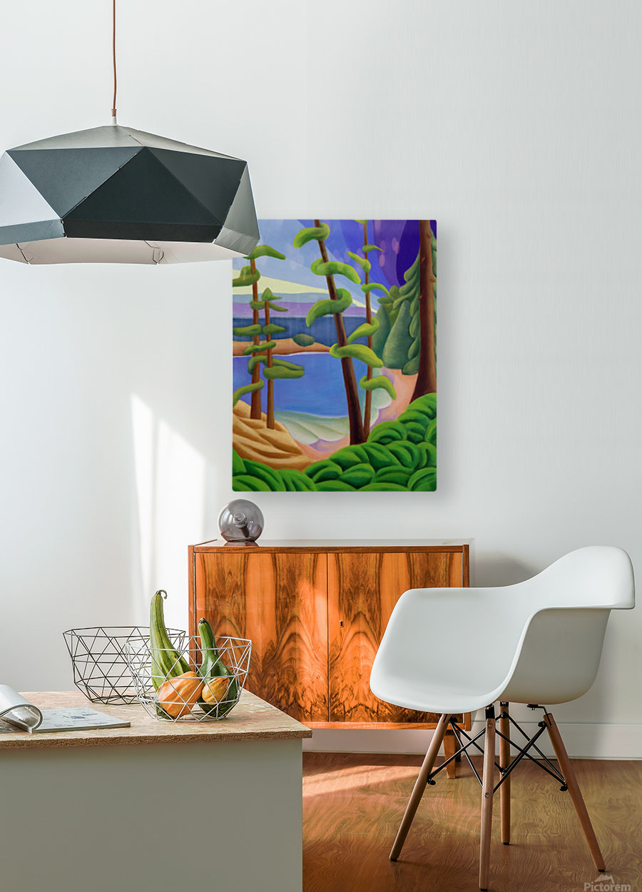 On Vancouver Island  HD Metal print with Floating Frame on Back