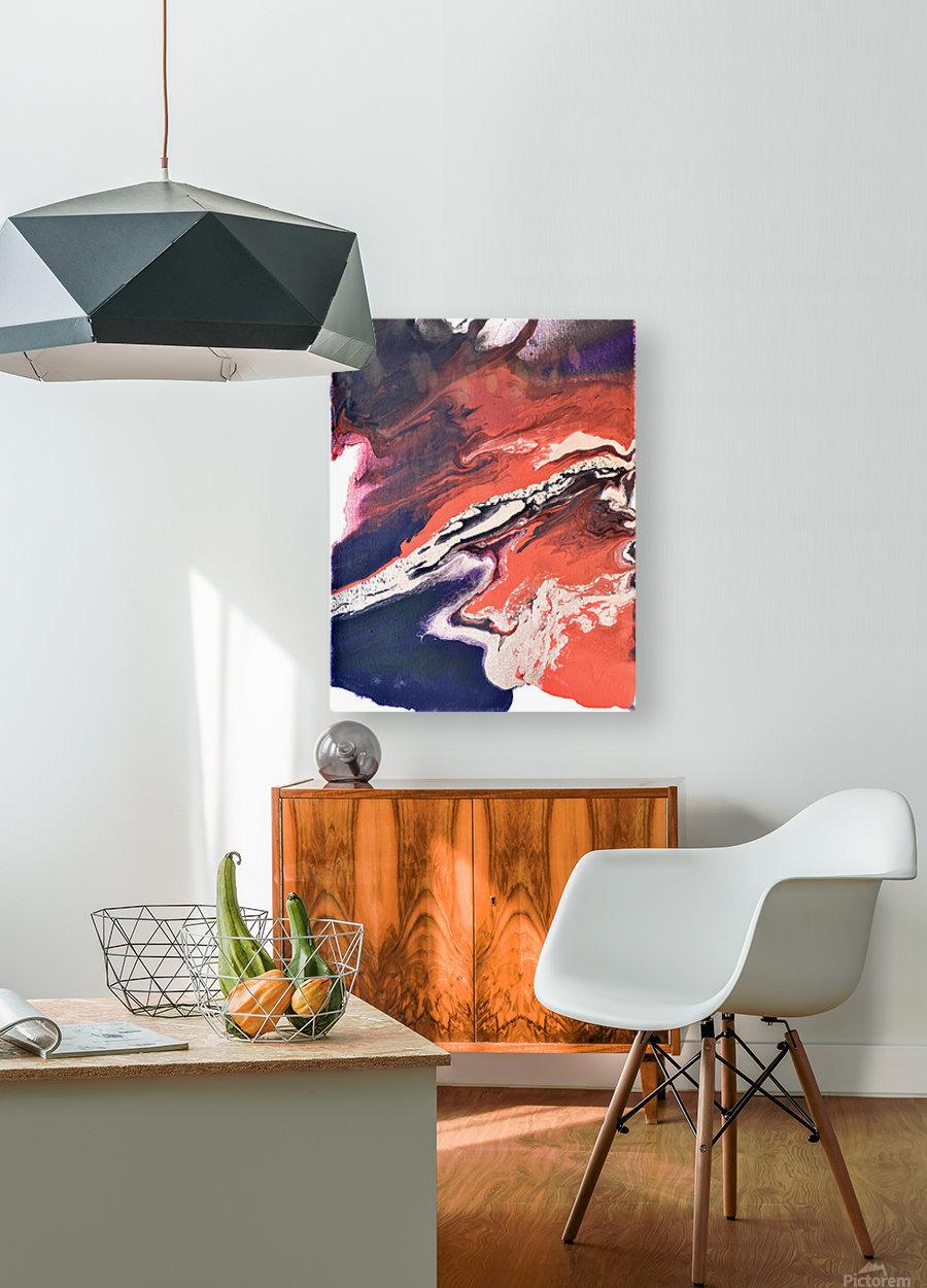 Jax  HD Metal print with Floating Frame on Back