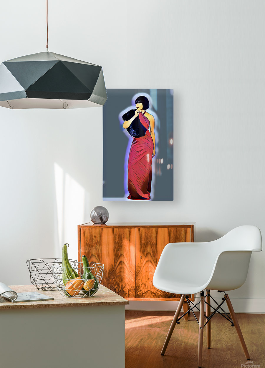 Candy  HD Metal print with Floating Frame on Back