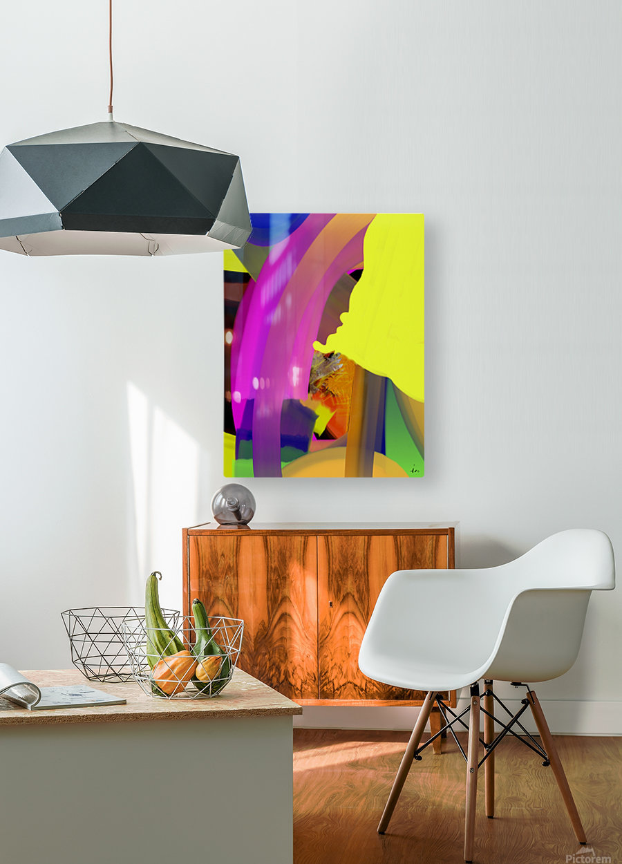0168  HD Metal print with Floating Frame on Back