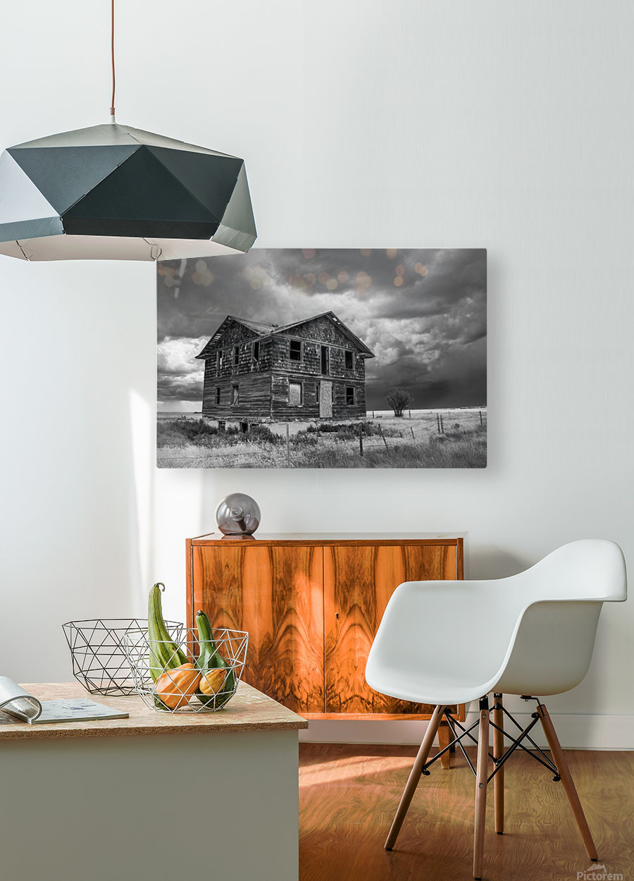 Calm Before The Storm - Red Coat Trail  HD Metal print with Floating Frame on Back