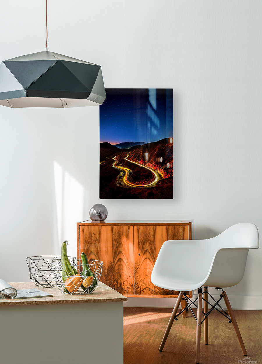 Highway to Hell  HD Metal print with Floating Frame on Back