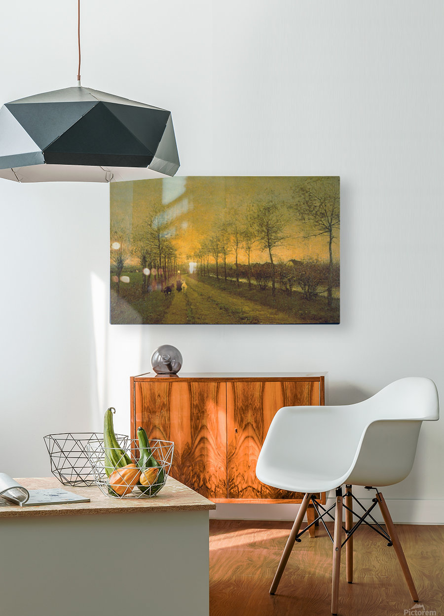 Dusk by Maris  HD Metal print with Floating Frame on Back