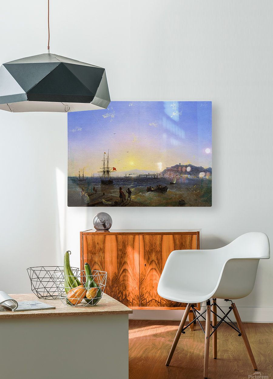 Kerch  HD Metal print with Floating Frame on Back