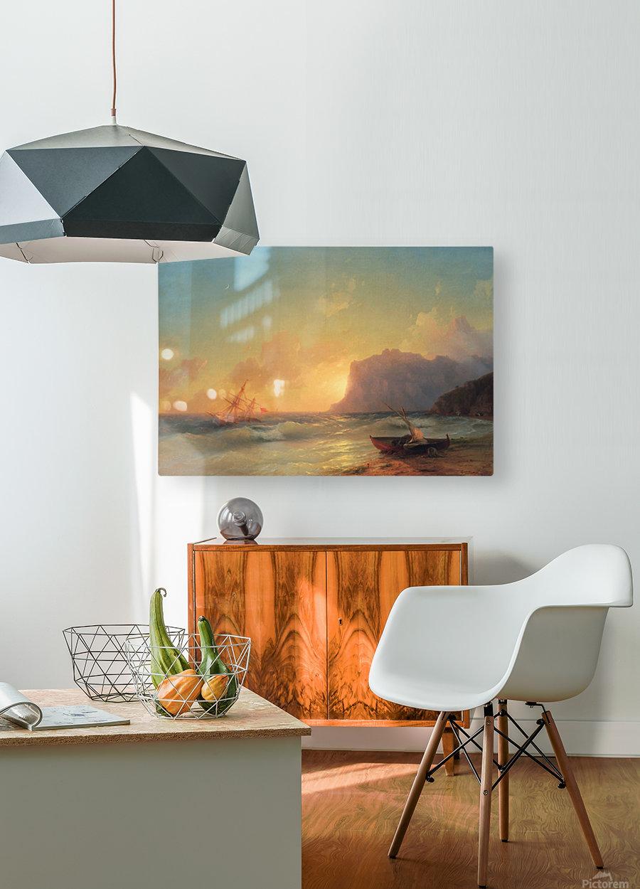 Sea. Koktebel  HD Metal print with Floating Frame on Back