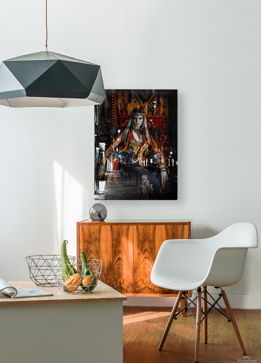 The Empress  HD Metal print with Floating Frame on Back