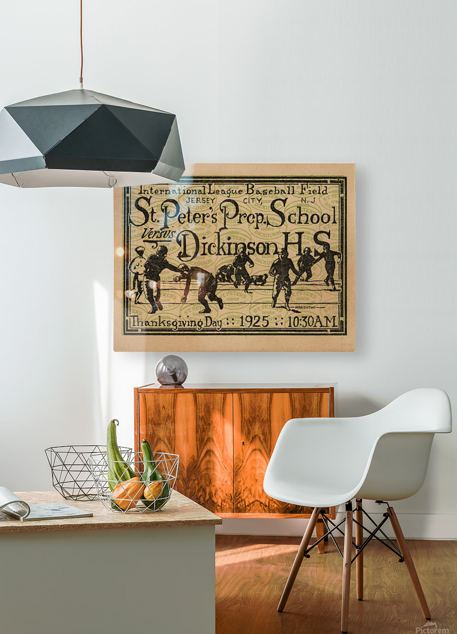 1925 St. Peters Prep  HD Metal print with Floating Frame on Back