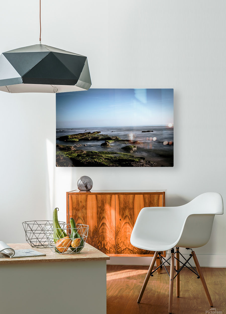 Turtle Island  HD Metal print with Floating Frame on Back