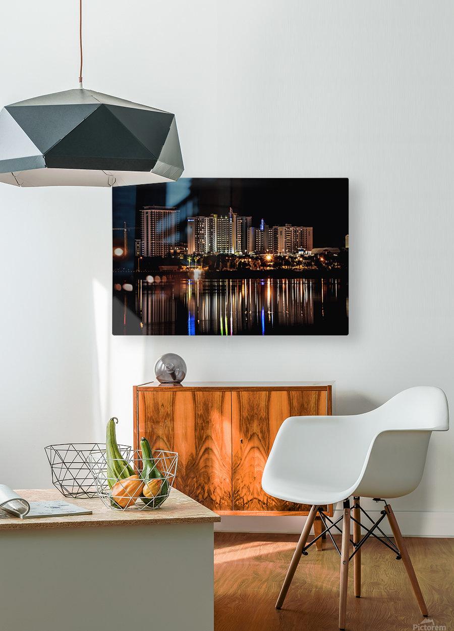 Costal Breezeways  HD Metal print with Floating Frame on Back