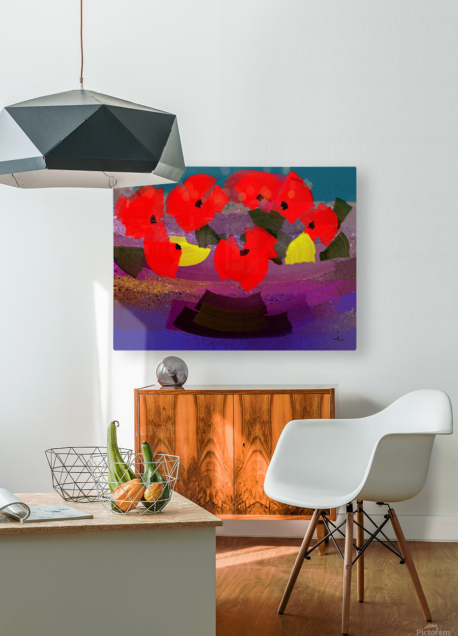 0263  HD Metal print with Floating Frame on Back