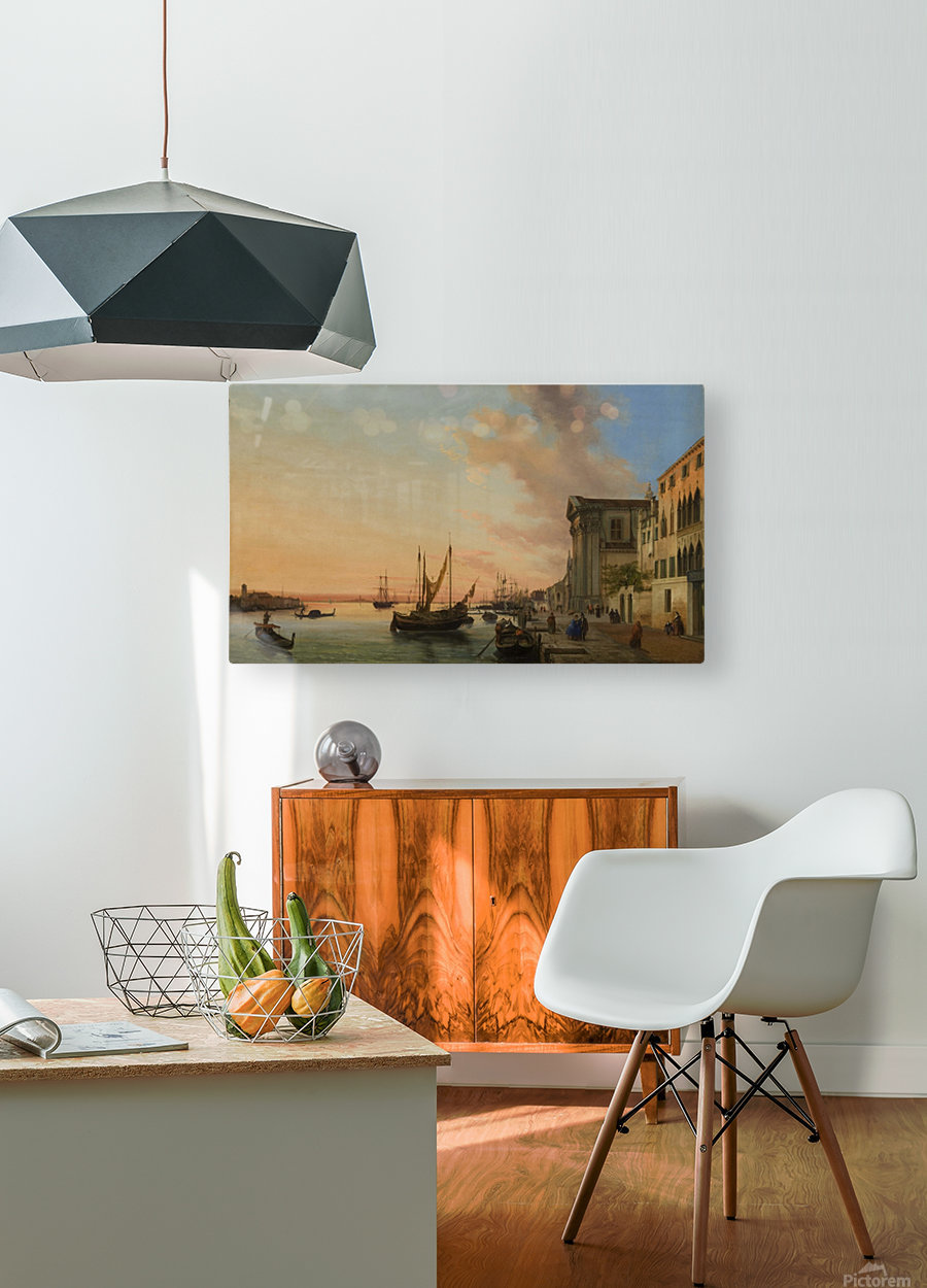 Venice Bay  HD Metal print with Floating Frame on Back